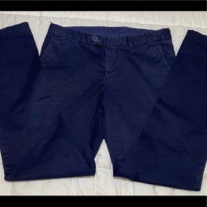 Monar men's blue slim fit trousers size 32